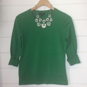 Gap emerald green sweater